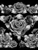 50 Розы с утренней росой