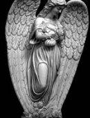 106 Ангел с цветами