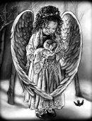 107 Ангел с котенком