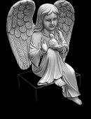 12   Ангелок С Птичкой
