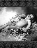16  Ангел Спящий С Рамкой