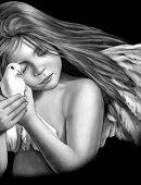 2   Ангелочек С Голубем