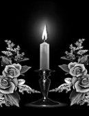 4 свеча с розами
