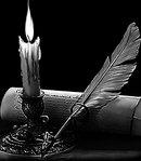 5 свеча с письмом