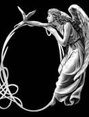 70 Рамка с ангелом