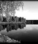 72 пейзаж красивая река