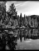 73 Пейзаж камни в воде