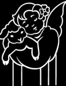76   Ангелок С Ягненком