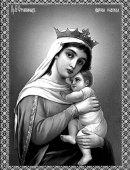 77 Богородица с младенцем