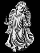 97 Ангелок со свечкой